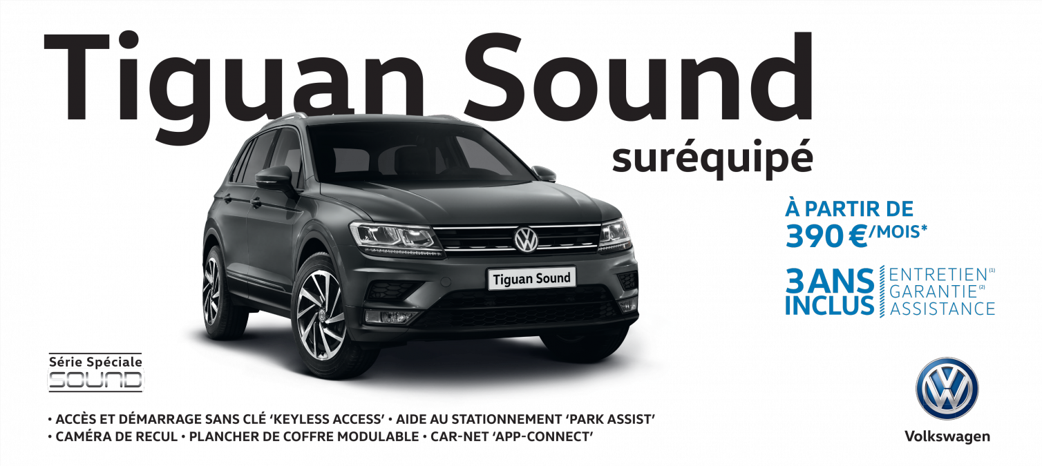 tiguan sound sur quip lebon cherbourg garage volkswagen cherbourg. Black Bedroom Furniture Sets. Home Design Ideas